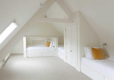 Indoor | Bed, wardrobe doors and bed storage